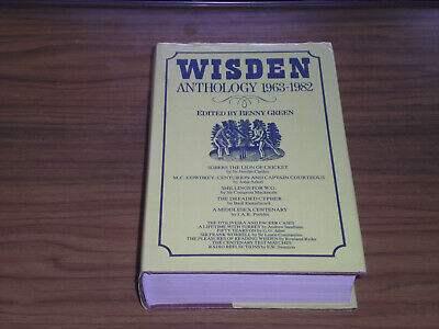 £7.99 • Buy Wisden Anthology 1963 - 1982 - Edited By Benny Green **pre-owned**