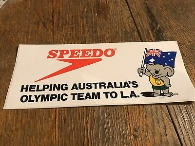 AU10 • Buy Original 80s Speedo Sticker