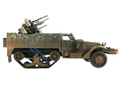 $65.99 • Buy 1:32 Diecast Unimax Toys Forces Of Valor WWII US Army M16 Halftrack Quad 50Cal