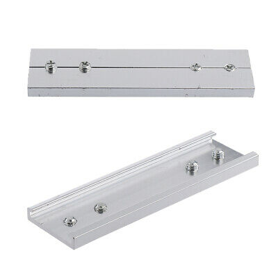 Curtain Rail Connection Joint Blind Pole Connector Window Curtain Accessories • 2.93£