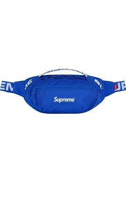 $ CDN551.33 • Buy SUPREME SS18 Waist Bag Fanny Pack Royal Blue Brand New In Plastic 100% Authentic