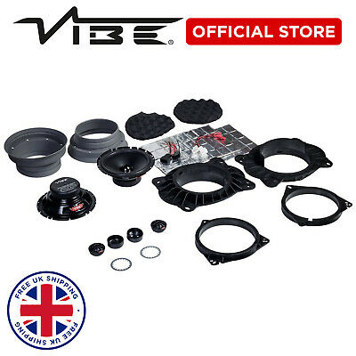 VIBE 6.5 Inch Toyota Avensis Speaker Upgrade - OPTITOYOKT-V8 • 149.99£