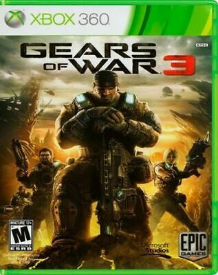 $6.99 • Buy Gears Of War 3 Microsoft Xbox 360 (Case, Game)