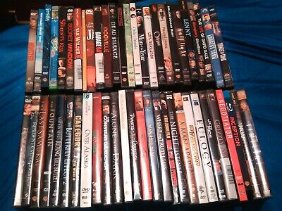 $ CDN31.03 • Buy Huge Lot Of 50+ DVDs In Original Cases. Mostly Drama, Some Comedy Horror Sci Fi