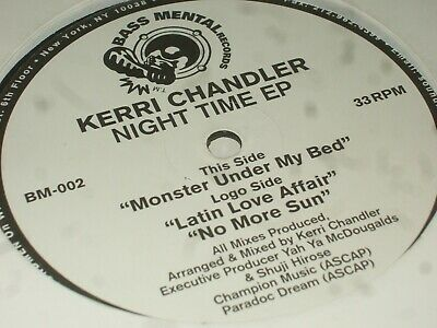 Kerri Chandler ‎– Night Time EP       1999  DEEP HOUSE...EX CON!! • 6.99£