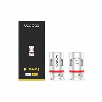 Voopoo PNP Replacement Coils For The Voopoo Vinci Kit 5pcs VM1 M1  • 11.49£