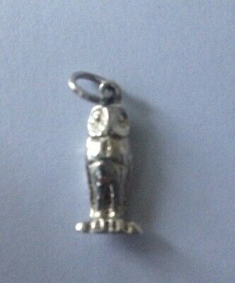 £15 • Buy Sterling Silver Owl Charm