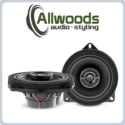 Focal IC BMW 100L 4  2 Way Coaxial Speaker Set For BMW 1 Series F20 • 149.99£