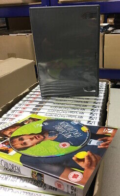 200 Brand New DVD Cases FREE UK POSTAGE Replacement 14mm Spine Amaray Empty • 33.99£