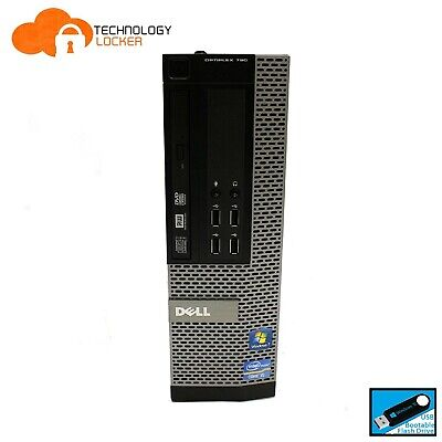 AU3000 • Buy DELL Optiplex 790 SFF Desktop PC Intel I5-2400 @3.10GHz 4GB RAM 500GB HDD Win 10