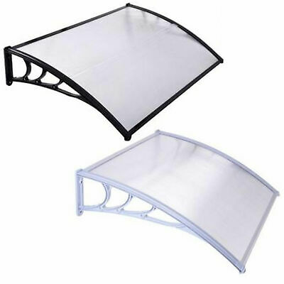£34.95 • Buy Door Canopy Awning Shelter Outdoor Porch Patio Front Back Window Roof Rain Cover