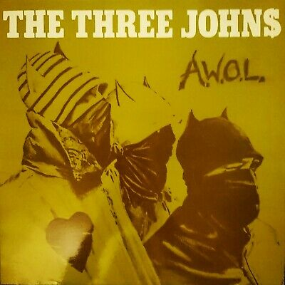 The Three Johns  A.W.O.L 12  12ABS019 ABSTRACT 1983 EX COND  • 10£