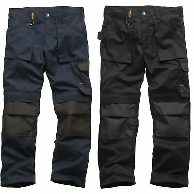 Scruffs Worker Work Trousers Non-Holster Black Navy Hard Wearing Trade Trouser • 22.49£