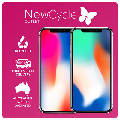 AU578 • Buy Apple IPhone X 64GB 256GB Unlocked Smartphone 12 Month Warranty