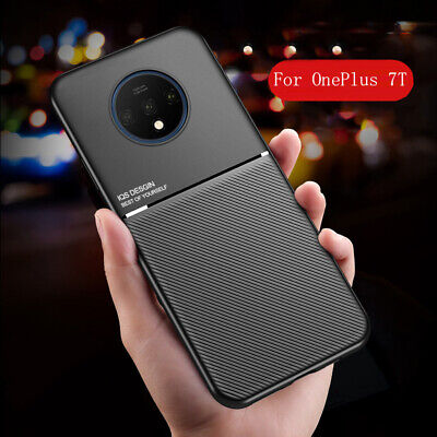$ CDN5.76 • Buy For OnePlus 7T 7 Pro Magnetic Soft TPU Suitable For Vehicle Support Case Cover
