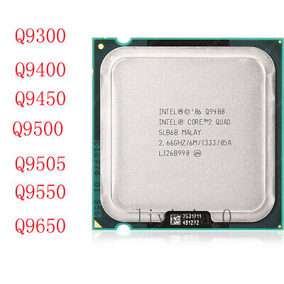 $ CDN27.89 • Buy Intel Core 2 Quad Q9300 Q9400 Q9450 Q9500 Q9505 Q9550 Q9650 LGA775 Processor
