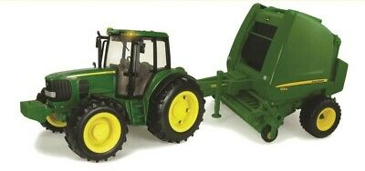 AU79.99 • Buy NEW John Deere Tractor And Round Baler From Mr Toys