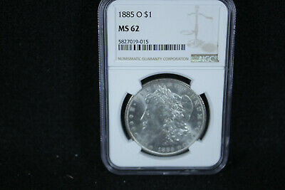 $46.95 • Buy 1885-O Morgan Silver Dollar NGC MS 62
