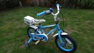 HALFORDS Police Bike With Stabalisers. Boys / Girls Bicycle Suit 3-5 Year Olds.  • 10£