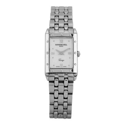 Rare Raymond Weil Tango 5970 Womens Stainless Steel Watch, Rrp New £599 • 249.99£