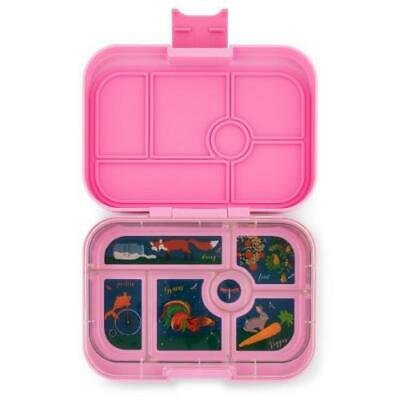 AU39.95 • Buy NEW Yumbox Original Lunch Box -  Bento Box - 6 Compartments - Stardust Pink