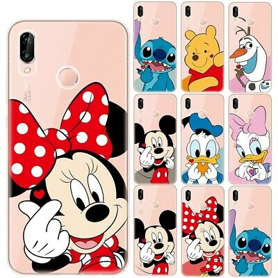 Mickey Minnie Soft TPU Case Cover For Huawei P8 P9 P10 P20 P30 Lite • 3.94£