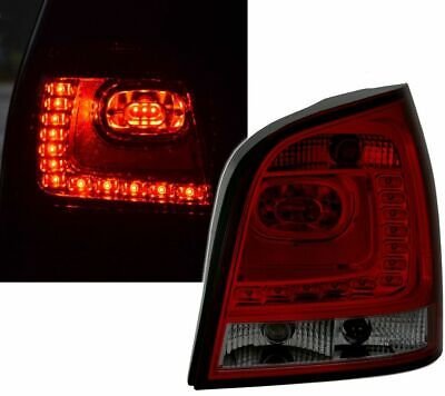 AU356.85 • Buy Vw Polo 9n & 9n3 Smoked Led Tail Lights Rear Lamps 10/2001-5/2009