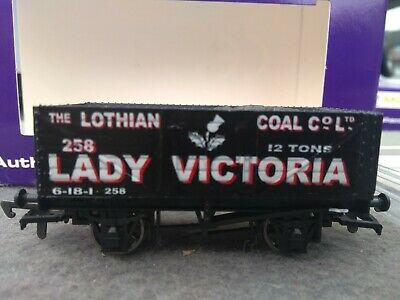 Dapol Wagon Robbie's Rolling Stock Hand Decorated Lady Victoria Lothian Coal • 20£