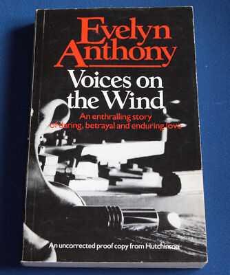 Evelyn Anthony VOICES ON THE WIND 1985 1st Edition Uncorrected Proof Copy  • 12.71£