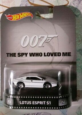 $ CDN5.29 • Buy HOT WHEELS 1/64 RETRO JAMES BOND 007 THE SPY WHO LOVED ME LOTUS ESPRIT S1 NEW A1