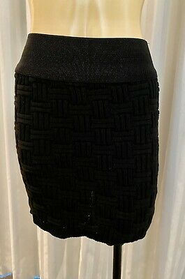 £11 • Buy Lovely Girl Chunky Cable Knit Mini Skirt Size 12