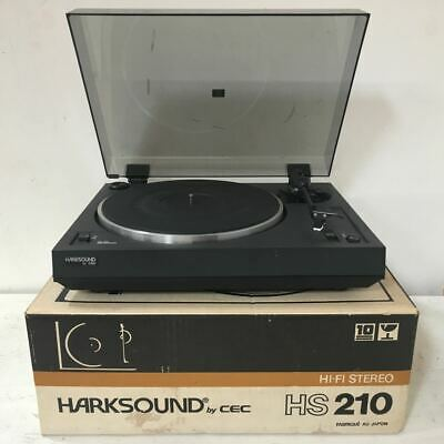 AU210 • Buy Vintage Harksound By CEC HS 210 Turntable / Record Player - High Quality - Japan