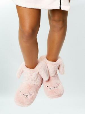 Ann Summers Hop To It Bunny Rabbit Booties Slipper Size 5-6  • 9.99£