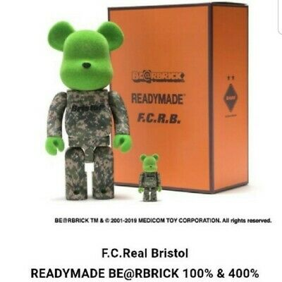$239.98 • Buy Medicom Toy  BE@RBRICK READYMADE × F.C.Real Bristol BEARBRICK 400% 100% Set