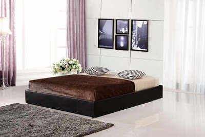 AU268.92 • Buy PU Leather Double Bed Ensemble Frame