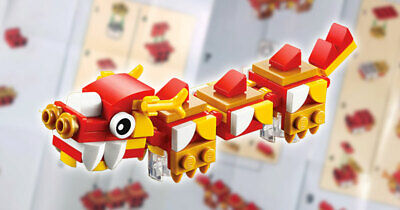 $12.99 • Buy LEGO 40395 Mini Build Chinese New Year Dragon Polybag New Sealed Fast Shipping
