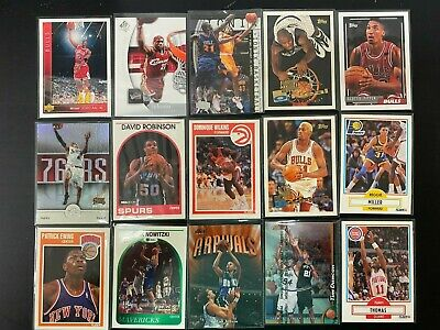 $25 • Buy Lot Of New Old Basketball Cards Jersey Autograph Memorabilia Cards - Liquidation
