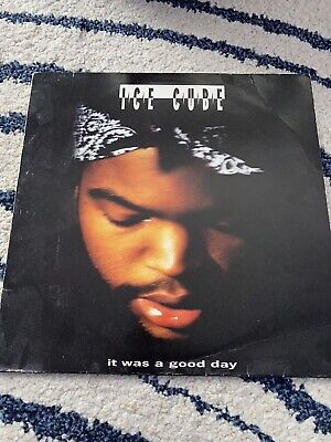 "ICE CUBE -IT WAS A GOOD DAY -12"" HIP HOP GANGSTA VINYL RECORD VG+ Con • 15.99£"