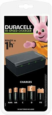 Duracell Hi-Speed Universal Charger CEF22 - AA AAA C D & 9V Rechargeable Battery • 26.99£