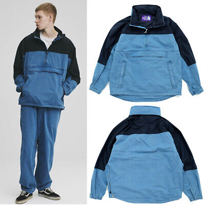 $499 • Buy 2020 The North Face Purple Label Indigo Mountain Wind Pullover NP2008N New