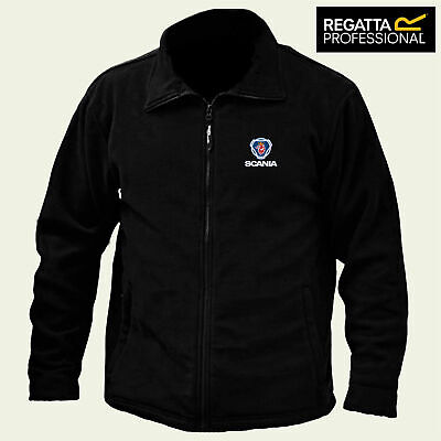 £28.99 • Buy Scania Regatta Fleece Jacket Embroidered Logo Winter Warmer Unisex
