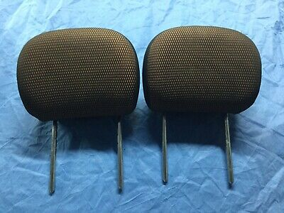 $22.49 • Buy 2002 Ford Focus Mach Audio Edition ZTS Orange Seat Headrests **FREE SHIPPING**