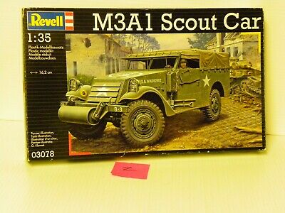 $22.06 • Buy Revell #03078 1/35  M3a1 Scout Car Open/fsi