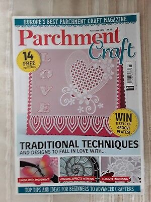 Parchment Craft Magazine February 2017 • 2.99£