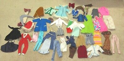 $ CDN9.99 • Buy Vintage Lot Of 40+  1960's Barbie Clothes - Many Home Made