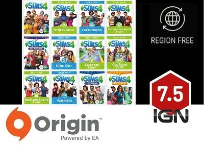 AU10.82 • Buy The Sims 4 - Expansions / Additional DLC  [PC / MAC] Origin Download Key