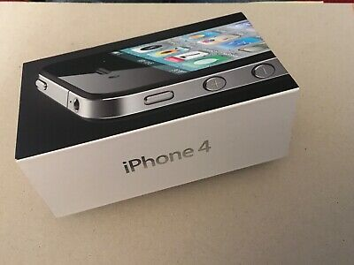 £5.45 • Buy Iphone 4 Box With A Accessories NO PHONE BOX ONLY