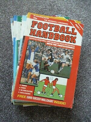 27 Issues Of Marshall Cavendish Football Handbook • 2.99£