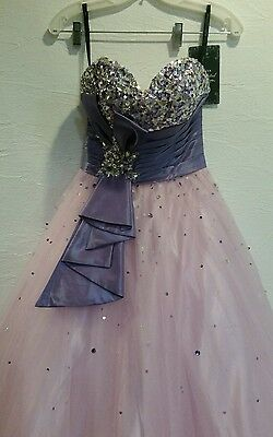 £189.03 • Buy Disney Forever Enchanted Tulle Strapless Prom Pagent/Wedding Dress Sz 0 -35592