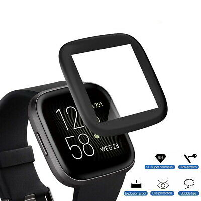 $ CDN9.28 • Buy 3D Screen Protector HD For Fitbit Versa 2 Tempered Full Coverage Glass Guard